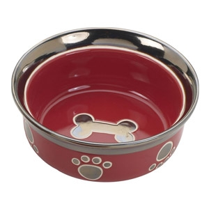Spot® Ritz Copper Rim Cat Dish