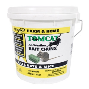 Tomcat® Bait Chunx 4 lb. Pail