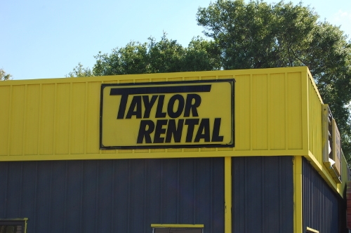 Welcome to Taylor Rental Center