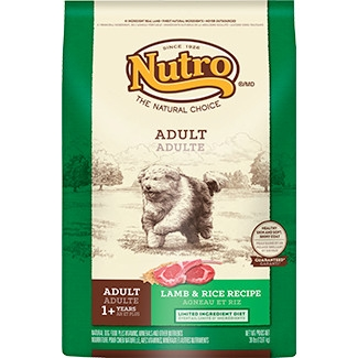 NUTRO™ Limited Ingredient Diet Adult Dog Food Lamb & Rice
