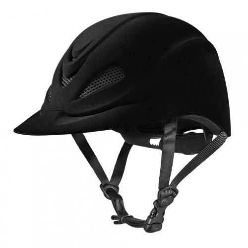 Troxel Capriole Velvet Flock Helmet
