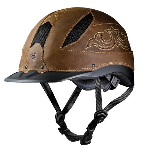 Troxel Cheyenne Brown Helmet