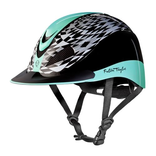 Troxel Fallon Taylor Mint Aztec Helmet