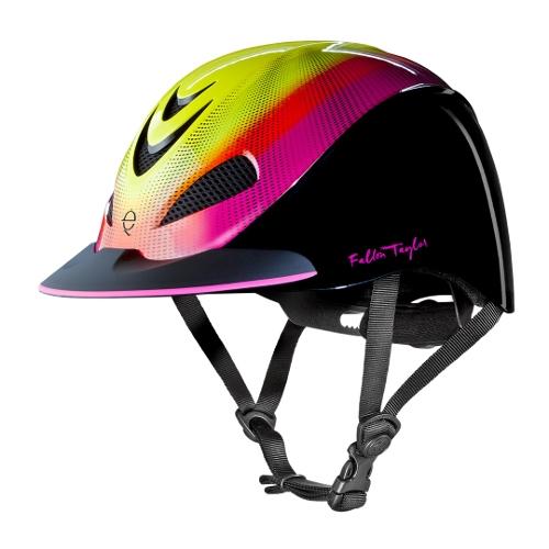 Troxel Fallon Taylor Neon Flare Helmet
