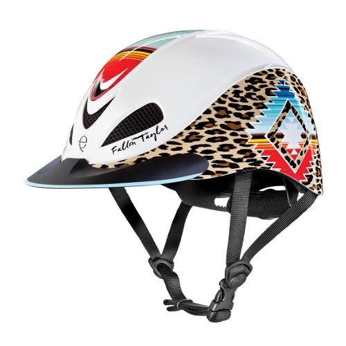 Troxel Fallon Taylor Pearl Leopard Helmet