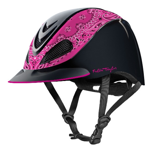 Troxel Fallon Taylor Pink Bandana Helmet