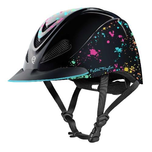 Troxel Fallon Taylor Rave Splatter Helmet
