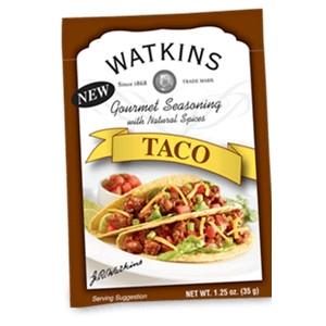 Taco Seasoning, JR Watkins
