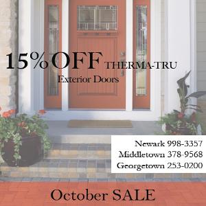 October Sale