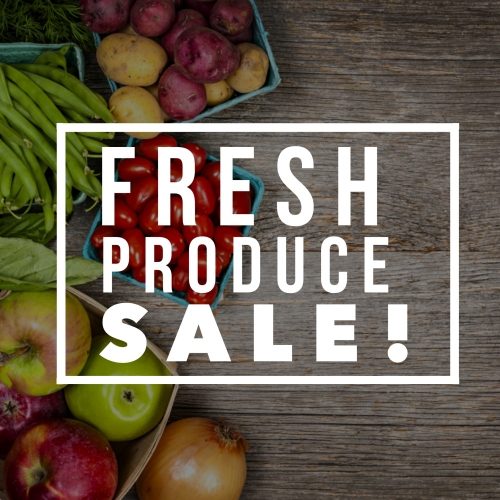Weekly Produce Sale!