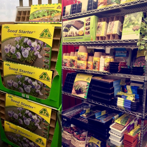 Seed Starting Supplies 25% Off
