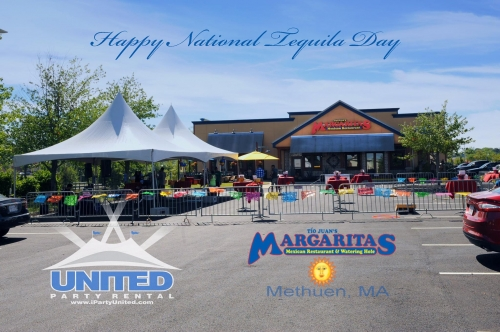 Happy National Tequila Day with Margaritas of Methuen
