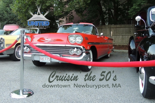 Cruisin' the 50's Car Show