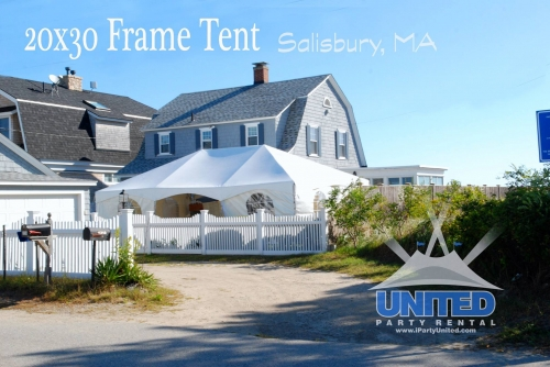 Salisbury,MA Tent
