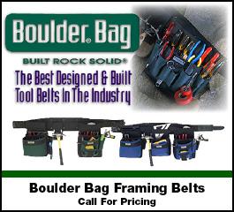 Boulder Bag Framing Belts