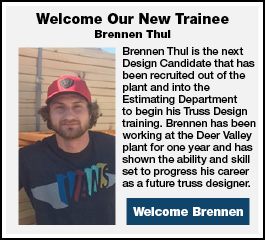 Welcome Our New Trainee