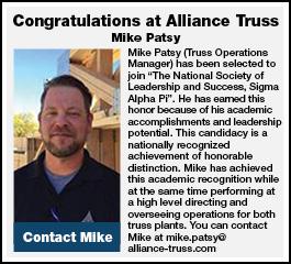 Congratulations at Alliance Truss
