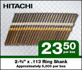 Hitachi Ring Shank