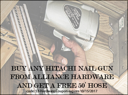 Hitachi Nail Gun Offer