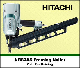 All New Hitachi Nailer