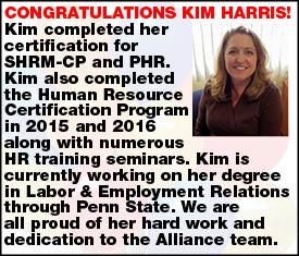 Congratulations Kim Harris