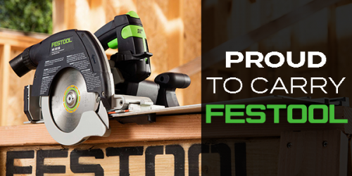 We Carry A Large Selection Of Festool Power Tools!
