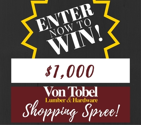 Enter For a Chance To Win $1,000 Shopping Spree!
