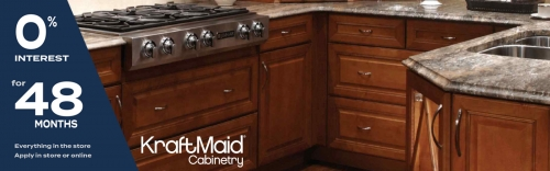 15% Off Kraftmaid Cabinets
