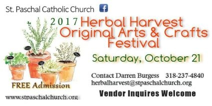 St. Paschal Herbal Harvest Original Arts and Crafts Festival