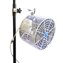 Pole Mounted Circulation Fans