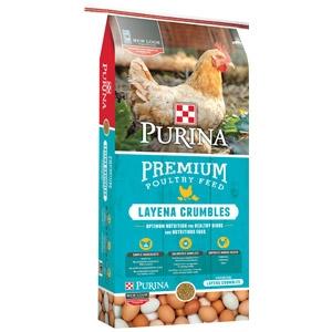 Purina Layena Premium Poultry Crumbles