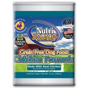 NutriSource Grain Free Canned Dog Food Special