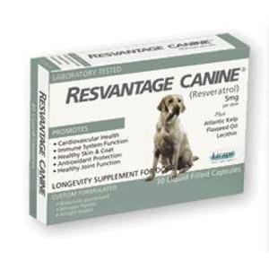 $1 Off Resvantage Canine Supplement