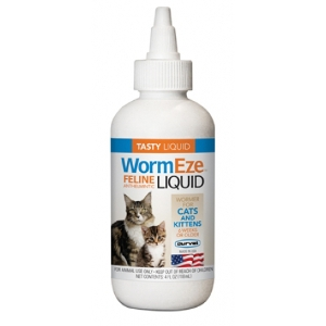 WormEze™ Liquid for Cats & Kittens 4 Oz.