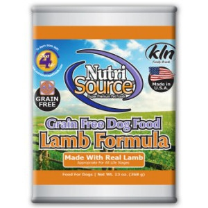 NutriSource® Grain Free Lamb FormulaCanned Food