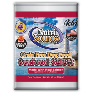 NutriSource® Grain Free Seafood Select Canned Food