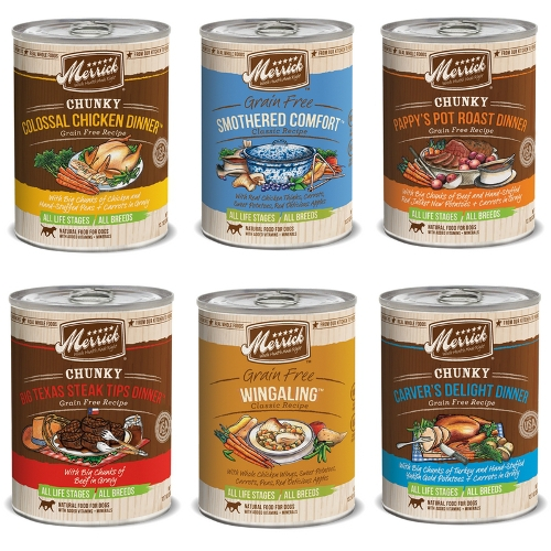 Merrick Canned Dog Food Special