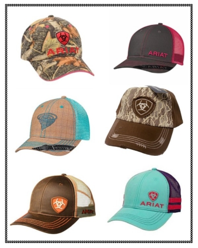 Ariat and Twister Hats