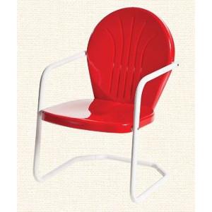 Torrans Bellaire Retro Metal Lawn Chair