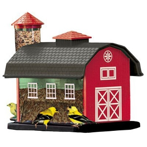 $5 Off Audubon Red Barn Combo Seed Feeder