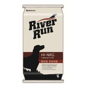 $1 Off River Run Hi-Energy 24-20 Dog Food 50 lb