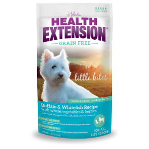 Health Extension Grain Free Buffalo & Whitefish Little Bites Dog Food
