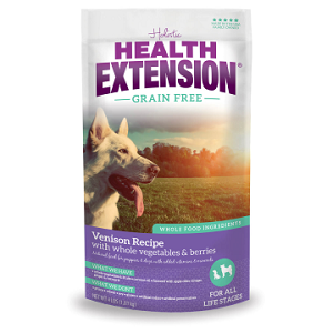 Health Extension Grain Free Venison & Chickpea Dog Food