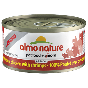 100% Natural Chicken with Shrimps Wet Cat Food