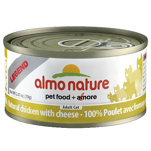 100% Natural Chicken with Cheese Wet Cat Food