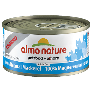 100% Natural Mackerel Wet Cat Food