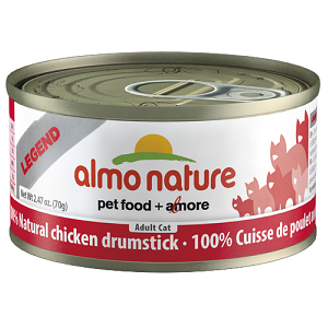 100% Natural Chicken Drumstick Wet Cat Food