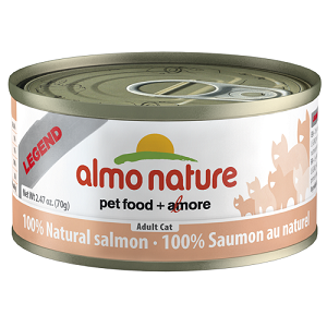 100% Natural Salmon Wet Cat Food