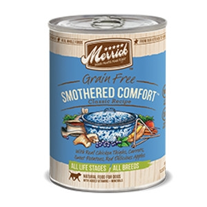 Smothered Comfort Grain Free Canned Dog Food