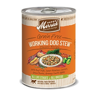 Merrick Working Dog Stew Can Dog 12/13.2 oz.
